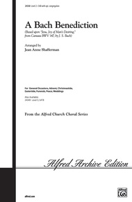 A Bach Benediction