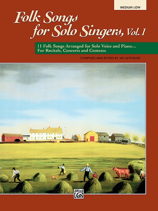 Folk Songs for Solo Singers, Vol. 1