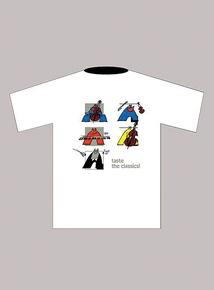 Taste the Classics! T-Shirt: White (Medium)