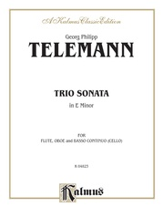 Trio Sonata in E Minor