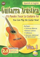 2 in 1 Bilingual: Guitarra Acústica Vol. 1