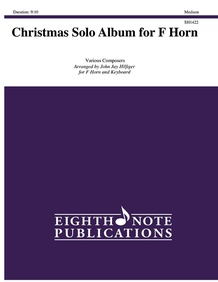 Christmas Solo Album for F Horn
