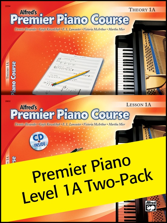 Premier Piano Course, Lesson & Theory 1A (Value Pack)