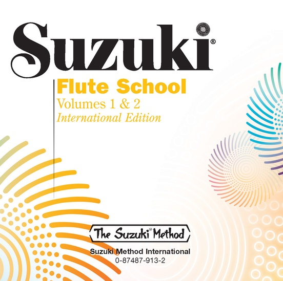 Suzuki Flute School CD, Volume 1 & 2 (Revised)