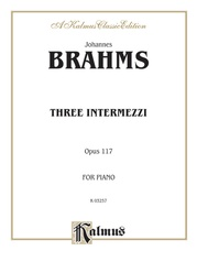 Three Intermezzi, Opus 117