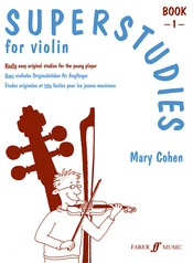 Superstudies for Violin, Book 1