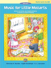 Music for Little Mozarts: Rhythm Speller, Book 3