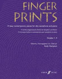 Fingerprints for Alto Saxophone and Piano, Grade 1-4