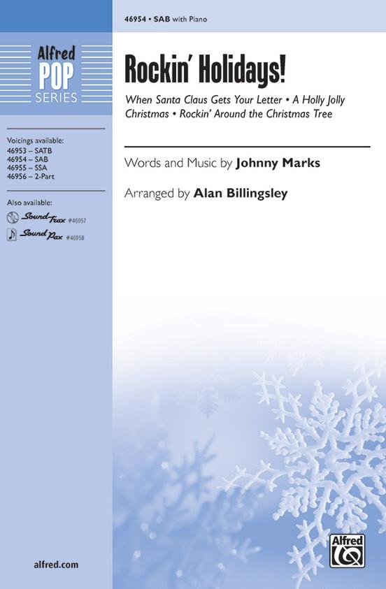 Rockin Around The Christmas Tree Piano Letters.Rockin Holidays