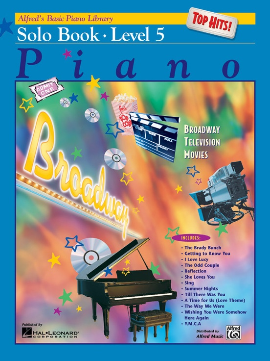 Alfred's Basic Piano Library: Top Hits! Solo Book 5