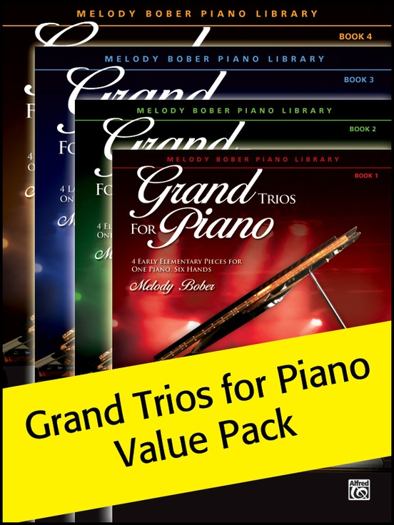 Grand Trios for Piano 1-4 (Value Pack)