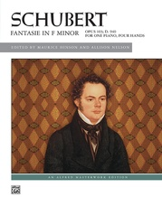 Schubert: Fantasie in F Minor, Opus 103, D. 940