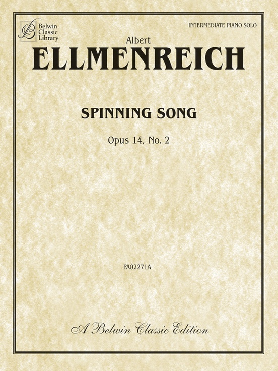 Spinning Song, Opus 14, No. 2