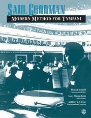 Saul Goodman: Modern Method for Timpani