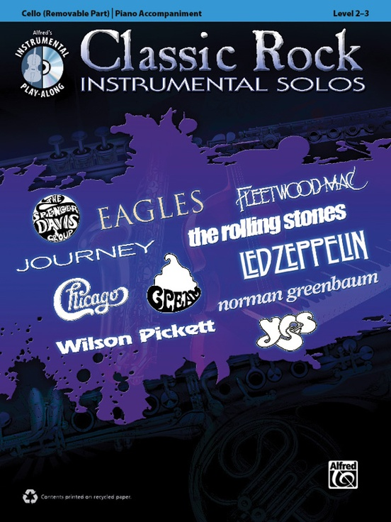 Classic Rock Instrumental Solos for Strings