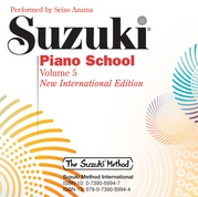 Suzuki Piano School New International Edition CD, Volume 5