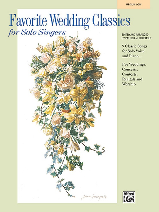 Favorite Wedding Classics for Solo Singers
