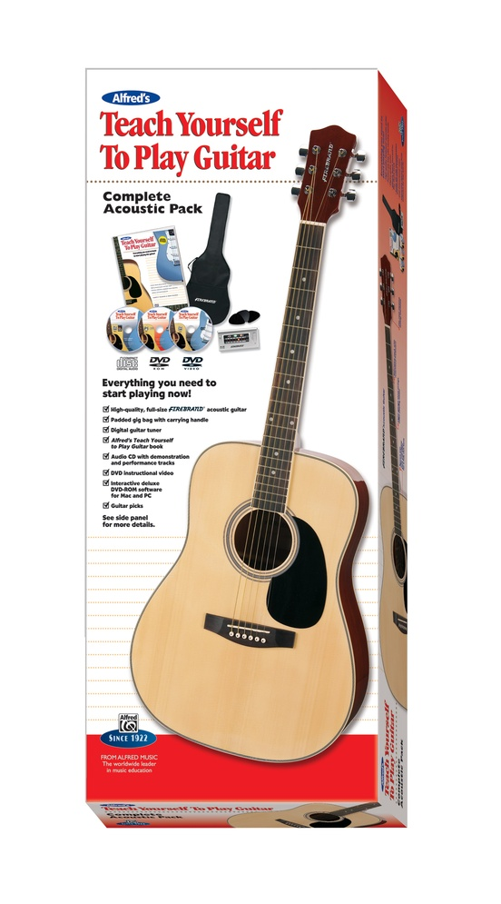 Alfred's Teach Yourself to Play Guitar, Complete Acoustic Pack