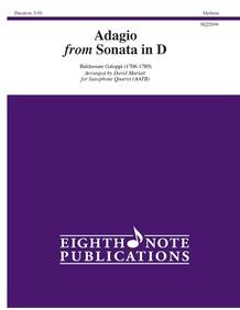 Adagio from Sonata in D
