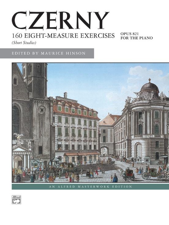 Czerny, 160 8-Measure Exercises, Opus 821