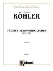 Twenty-five Romantic Etudes, Opus 66