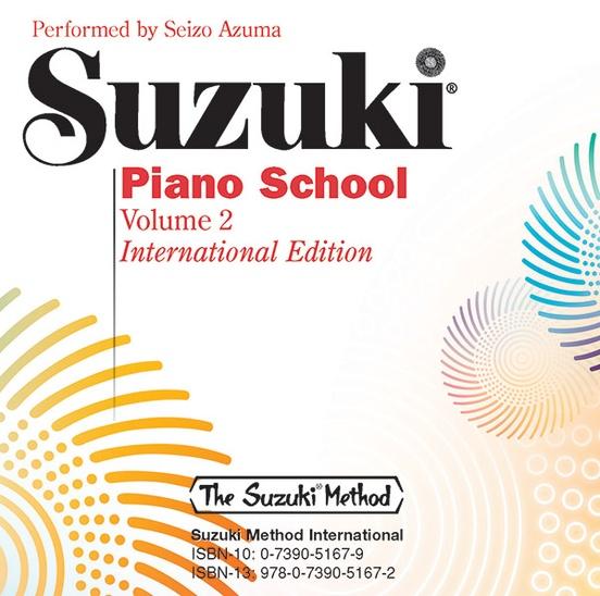 Suzuki Piano School International Edition CD, Volume 2
