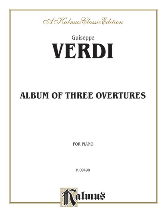 Album of Three Overtures