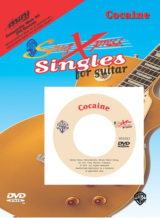 SongXpress® Singles for Guitar: Cocaine