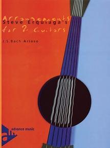 Steve Erquiaga's Arrangements for 2 Guitars: Arioso