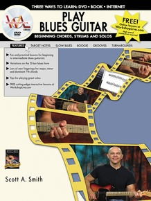 Play Blues Guitar: Beginning Chords, Strums, and Solos