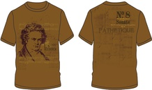Beethoven Sonate No. 8 T-Shirt (Extra Large)