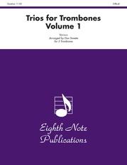 Trios for Trombones, Volume 1