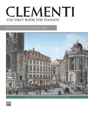 Clementi, First Book for Pianists