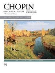 Chopin, Etude in C Minor, Opus 10, No. 12