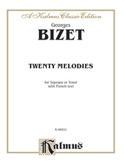 Twenty Melodies for Soprano or Tenor