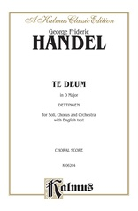 Te Deum in D Major, Dettingen