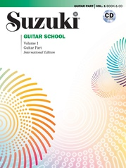 Suzuki Guitar School Guitar Part & CD, Volume 1 (Revised)