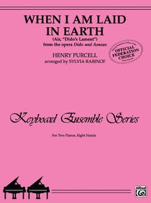 """When I Am Laid in Earth (Air, """"Dido's Lament"""" from the opera <I>Dido and Aeneas</I>)"""