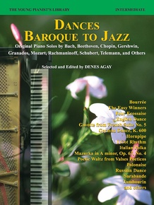 The Young Pianist's Library: Dances -- Baroque to Jazz, Book 13C