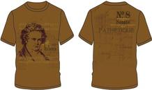 Beethoven Sonate No. 8 T-Shirt (Large)