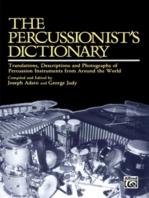 The Percussionist's Dictionary