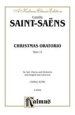 Christmas Oratorio, Opus 12