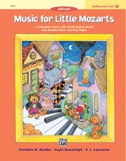 Music for Little Mozarts: Halloween Fun! Book 1