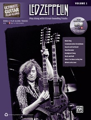 Ultimate Guitar Play-Along: Led Zeppelin, Volume 1