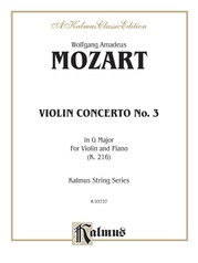 Violin Concerto No. 3 in G Major, K. 216