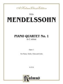 Piano Quartet No. 1 in C Minor, Opus 1