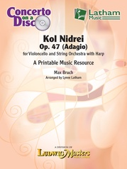 Kol Nidrei, Op. 47 for Cello and Strings