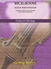 Sicilienne for Violin and String Orchestra