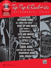 Top Pop & Rock Hits Instrumental Solos