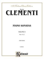 Piano Sonatas, Volume II (Nos. 8-12)